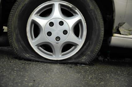 Flat Tire Pic