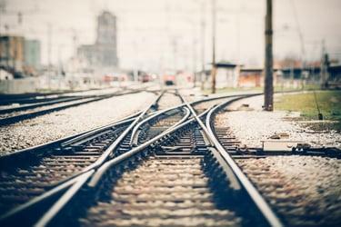 railroad tracksiStock-503393522